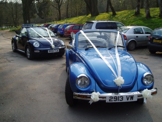 Beetle Cabrio Wedding Car Hire In Devon And The South